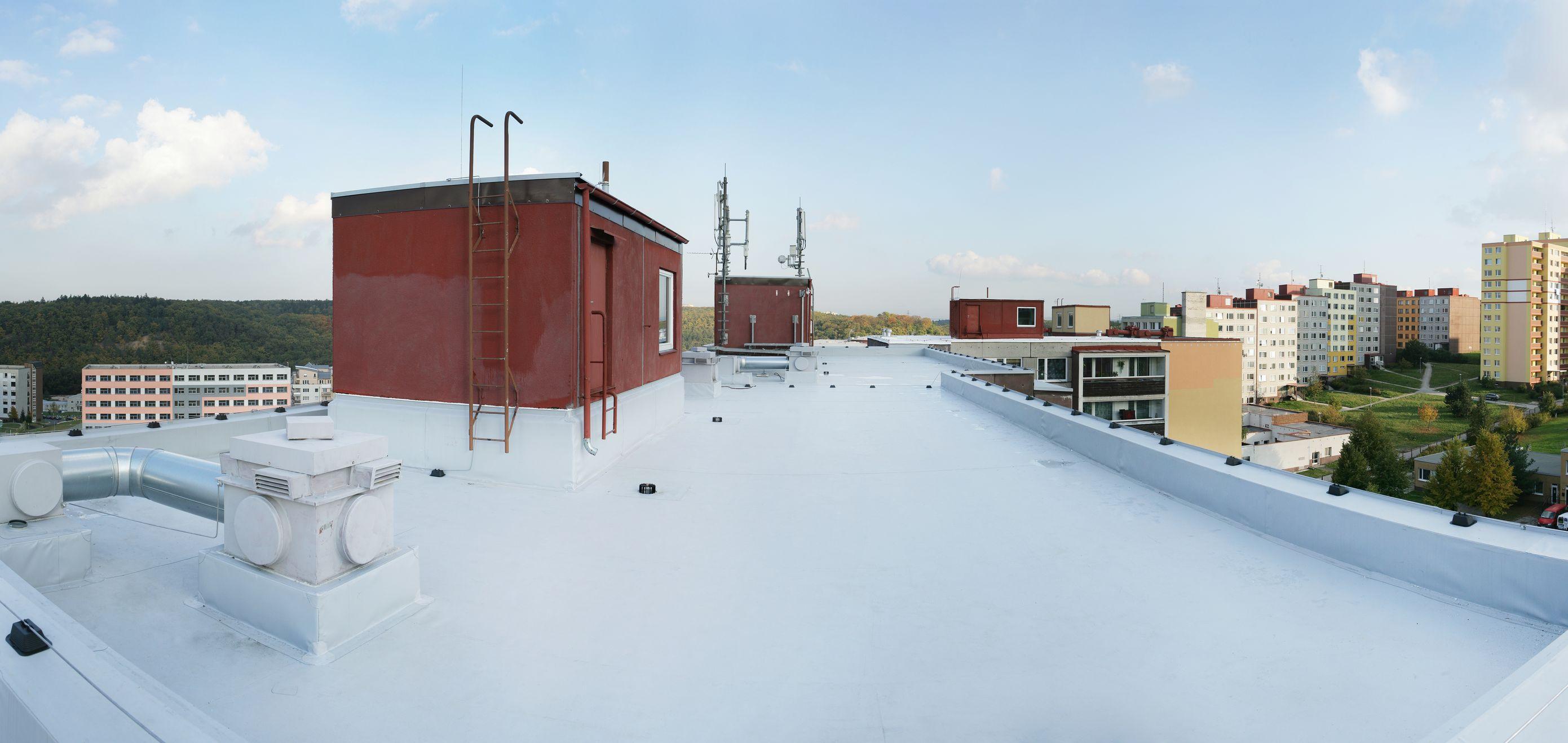zateplení a rekonstrukce střech