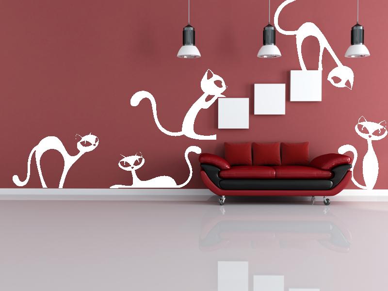 Oživte interiér nápaditou samolepkou na zeď