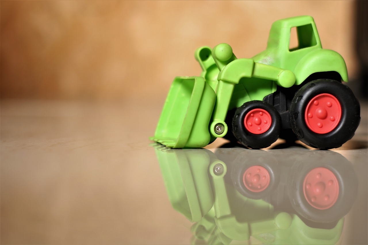 Tractor Toy Vehicle Miniature